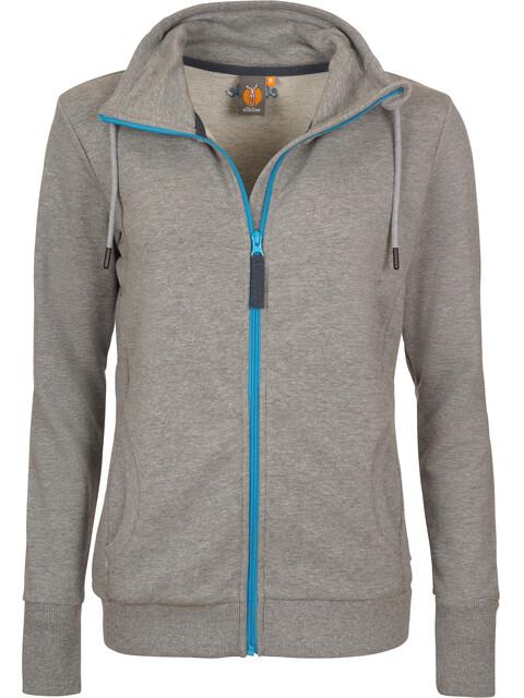 Elkline Galaxie Sweat Jacket Women greymelange